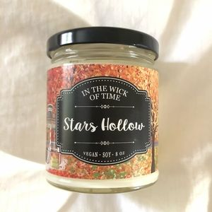 Gilmore Girls Stars Hollow Candle